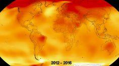 Katso itse miten planeettamme kuumenee. Video. Nasa