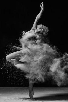 Mehl-Ballett-Fotos von Alexander Yakovlev