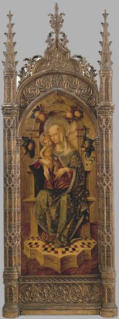CARLO CRIVELLI (1435 – 1495) | Madonna and Child.