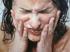 Alyssa Monks' hyper-realism  This is a painting. I want to be this good.