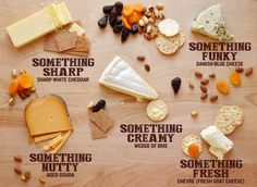 Awesome tips for making a really impressive cheese plate, with just things you can get at a supermarket.