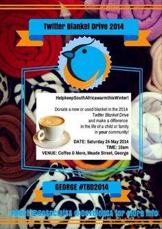 #TBD2014  #TwitterBlanketDrive #TBDAfrica @TBDAfrica Blanket, Twitter, Blankets, Cover, Comforters