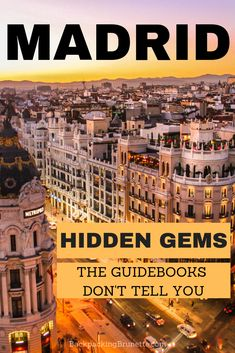 An Almost Local's Guide to Madrid There's nothing quite like European travel. And, one of the best cities in Europe is Madrid Spain! Plan your Spain vacation with these things to do in Madrid Spain. Everything you need to know about Madrid Spain travel. Best Cities In Europe, Europe Destinations, Madrid Travel, Countries To Visit, Spain And Portugal, Spain Travel, Travel Europe, Travel Trip, Travel Deals