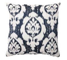 Sunbrella® Devin Ikat Indoor/Outdoor Pillow | Pottery Barn