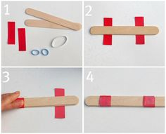 We are making these this upcoming week. DIY Harmonica made with popsicle sticks, paper and rubber bands. by mayalu, via Flickr