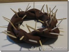 crown of thorns to go with resurrection eggs