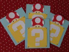 10 Super Mario Bros. Invitations. $24.00, via Etsy.