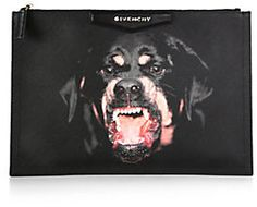 I still love this one by Givenchy Rottweiler Pouch