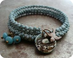 I love memory wire cuff bracelets