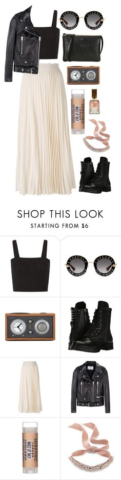 """""""Rock Baby"""" by mode-222 ❤ liked on Polyvore featuring Valentino, Gucci, Tivoli Audio, Capezio, Les Copains, Acne Studios, Skin & Tonic, Fallon and Dr. Vranjes"""