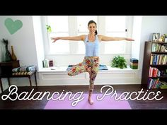 """Grounding Yoga Practice - Yoga With Adriene - """"Yoga to assist you in creating harmony and balance. My 5 favorite poses to do when I'm feeling like my overactive crazy mind is getting the best of me. Connect to the Earth! Find peace from within. Ground and stabilize your energy! Find What Feels Good!"""""""