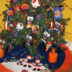 Game Tickets, Gameday Buttons and Toomers Toilet Paper--things to add to my auburn christmas tree--which i am putting up THIS weekend!