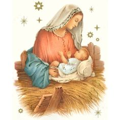 Catholic Christmas Cards ❤ liked on Polyvore featuring home, home decor and stationery