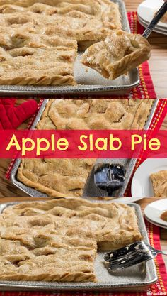 With this Apple Slab Pie recipe, everyone at the table can enjoy a helping of delicious pie. This is the easiest way to make apple pie, too!