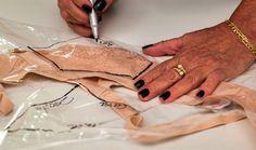 Curso online de Como tirar molde a partir de roupas prontas