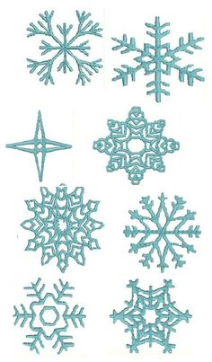 Frozen Snowflake Patterns Templates cakepins.com