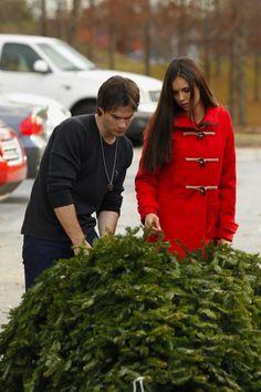 Ian and Nina Christmas tree shopping!