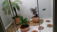 Jardim sobre o piso!! Projeto Marcelo Gizotti.