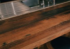 Reclaimed Antique Countertops - Mountain Lumber Company