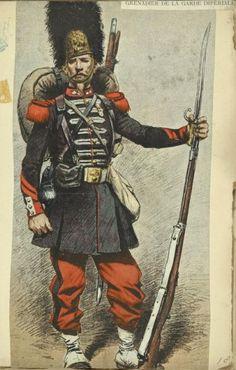 French grenadier, 1870