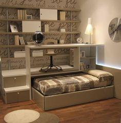 Cama nido escritorio