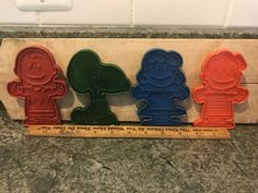 LOT 4 Vintage PEANUTS SNOOPY LUCY LINS CHARLIE BROWN Christmas Cookie Cutters  | eBay