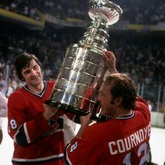 At the end of every hockey season, only one team gets to raise the Stanley Cup over their heads. All of them are great, but some of them are legendary. Here's the list of the greatest Cup winners of all time. Hockey Teams, Hockey Players, Ice Hockey, Hockey Stuff, Montreal Canadiens, Hockey Highlights, Hockey Stanley Cup, Nhl Wallpaper, Hockey Pictures