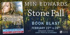 BOOK BLAST & #GIVEAWAY - Stone Fall by Min Edwards - @MEdwardsAuthor, @cvr_designer - The Killion Group, #Romance, #Suspense (February)