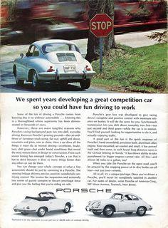 1965 Porsche Advertisement Road & Track February 1965 | Flickr - Photo Sharing!