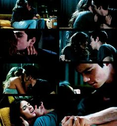 Teen Wolf - Stiles and Malia. Again, don't ship them but I still like Malia. Stiles And Malia, Scott And Stiles, Teen Wolf Ships, Teen Wolf Mtv, Howl At The Moon, Wolf Love, Stydia, Movie Couples, Dylan O'brien