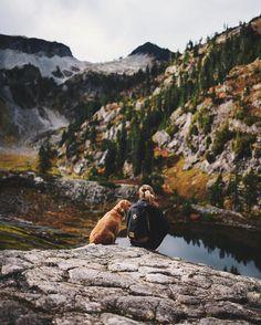 "698 Me gusta, 16 comentarios - John Wingfield (@johnwingfield) en Instagram: ""Just a girl and her dog."""