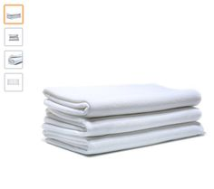 "Cakcus Premium Bath Towel Set:Microfiber 3 Pack Towel Sets (31""71"") - Extra Absorbent, Fast Drying & Antibacterial, Multipurpose Use as Bath Fitness Towel, Sports Towels, Yoga Towel,Spa Towel, white - http://amzn.to/2u8NrqS"