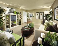 Love the website. Eclectic Family Room Pop Color Design, Pictures, Remodel, Decor and Ideas - page 4