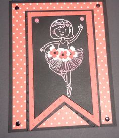 Crisp Cantaloupe Blend abilities and White Embossing Powder on Basic black card stock. New technique taught to me by Deb Naylor my Demonstrator