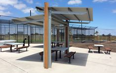 Town & Park SPTP.SHTO2.SS.5000 T Shelter with Flat Roof