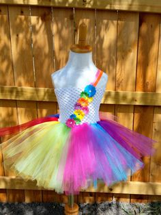 Check out this item in my Etsy shop https://www.etsy.com/listing/201589041/rainbow-tutu-dress-birthday-dress