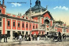 Chernivtsi - a city in the south-western part of Ukraine in the northern Bucovina Pruth over.