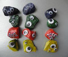 Funky monster stones