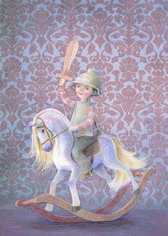 Нежные светлые рисунки Kathy Hare - Ярмарка Мастеров - ручная работа, handmade