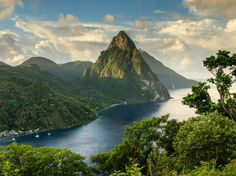 The Most Romantic Islands in the World: Readers' Choice Awards - Condé Nast Traveler - St. Lucia