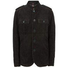 Black Lennon Jacket | Pretty Green | Designer fashion from Liam Gallagher. Get this from Masdings.com!