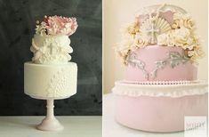 A Compendium of Sugar Flower Tutorials - Cake Geek Magazine Dressing Table Cake, Wedding Cake Designs, Wedding Cakes, Flower Cake Decorations, Fondant, Confirmation Cakes, Girl Cakes, Baby Cakes, Communion Cakes