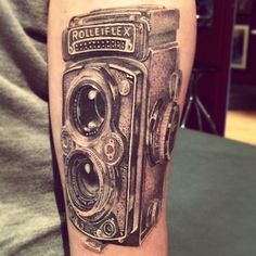rolleiflex camera tattoo | for forums: [url=http://www.tattooshunt.com/rolleiflex-camera-tattoo ...
