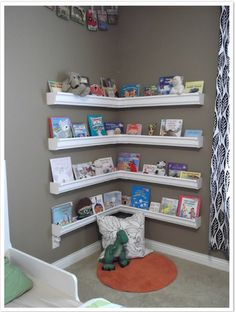 Lovely Little Bookworms: Creating Reading Spaces for Kids: Book Corner Heaven