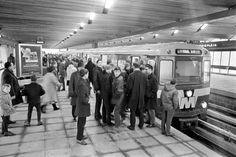 Rotterdam - Zuidplein, Metro station, 1967