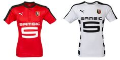 Camisas do Stade Rennais 2016-2017 Puma