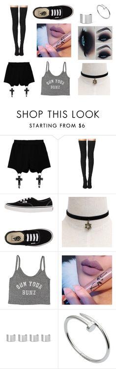 """Hannah's Outfit [Cap.1]"" by learningtosmileagain ❤ liked on Polyvore featuring Chicnova Fashion, Tamara Mellon, Vans, Billabong, Maison Margiela and Cartier"