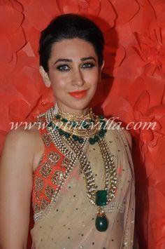 Karishma's B'ful Saree, Blouse & Jewels