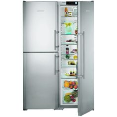 Liebherr SBSES7353 - 121cm Side By Side Fridge & BioFresh Freezer