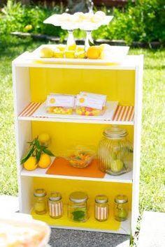 {MY PARTIES} lemon party - Creative Juice